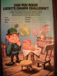 Retro Lucky Charms Cereal Ad