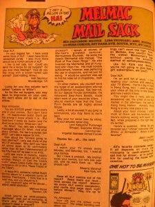 Melmac Mail Sack