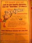 Retro Duck Tales Ad